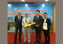 Lễ trao Giấy chứng nhận đầu tư cho doanh nghiệp