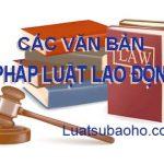 Các văn bản về Pháp luật Lao động