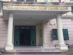 Tòa án nhân dân quận Thanh Xuân, Hà Nội