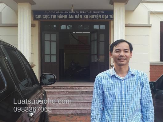 Chi cục thi hành án dân sự huyện Đại Từ Công ty tư vấn luật tại huyện Đại Từ, Thái Nguyên