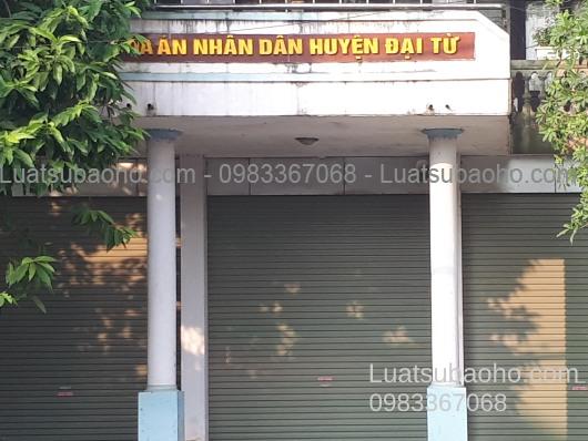 Tư vấn luật tại huyện Đại Từ, Thái Nguyên