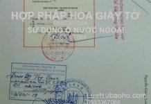 Hợp pháp hóa lãnh sự giấy tờ để sử dụng ở nước ngoài