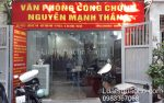 Văn phòng công chứng Nguyễn Mạnh Thắng Dịch vụ luật sư