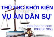 Tư vấn thủ tục khởi kiện vụ án dân sự tại Toà án