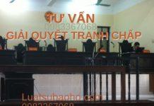Dịch vụ tư vấn giải quyết tranh chấp tại tòa án