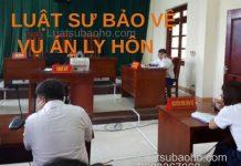 Luật sư tranh tụng vụ án ly hôn tại Tòa án