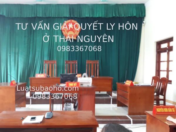 Luật sư tư vấn giải quyết Ly hôn tại tòa án ở Thái Nguyên