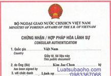 Dịch vụ hợp pháp hóa lãnh sự