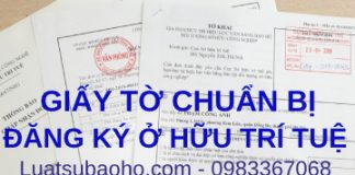 Giấy tờ cần chuẩn bị đăng ký Sở hữu trí tuệ Trang chủ