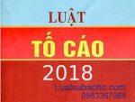 Luật tố cáo 2018