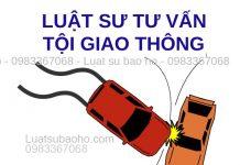 Luật sư tư vấn tội vi phạm giao thông
