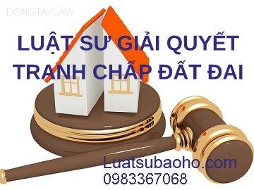 Luật sư giải quyết tranh chấp đất đai