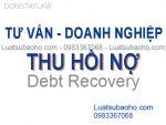 Luật sư tư vấn thu hồi nợ cho doanh nghiệp