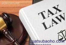 Luật sư khiếu nại và Khởi kiện về thuế