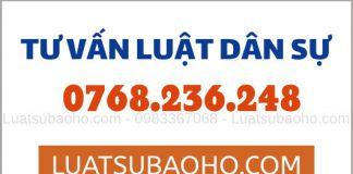 Luật sư tư vấn luật dân sự Trang chủ