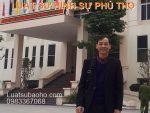 Thuê luật sư hình sự Phú Thọ